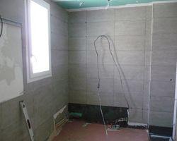 David Raspaud - Blanzat - Agrandissement d'une salle de bain tout en carrelage