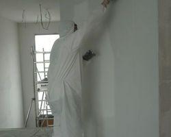 David Raspaud - Blanzat - Peinture et enduit décoratif d'une maison neuve