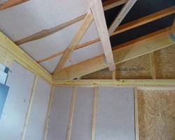 David Raspaud - Blanzat - Isolation fibre de bois et plaque de plâtre