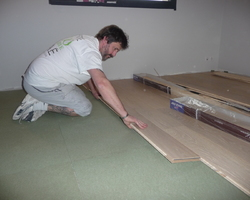 David Raspaud - Blanzat - Création d'une chambre dans une ossature bois