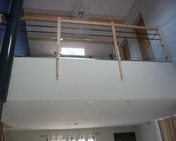 David Raspaud - Blanzat - Finition d'une mezzanine après conception